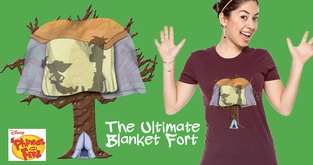 The Ultimate Blanket Fort