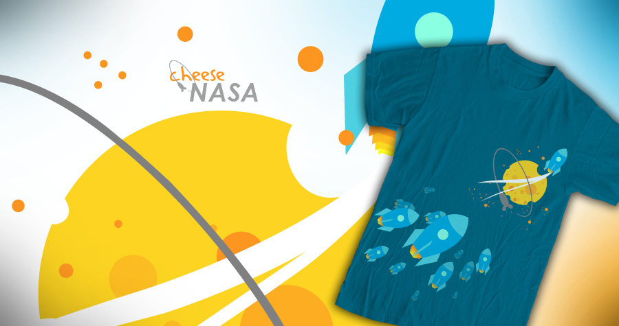 Cheese NASA