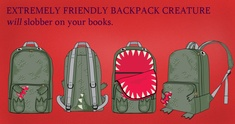 Image representing The Friendly Backpack Monster