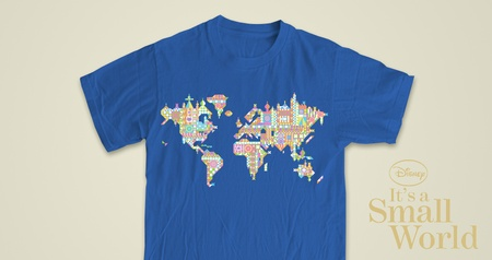 It's a Small World Map