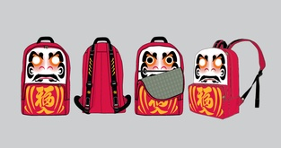Daruma Backpack