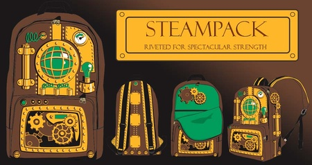 New! Innovative! See the Modern Steampack!
