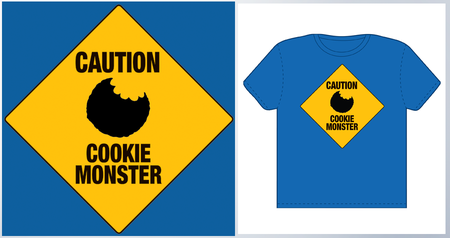 CAUTION! - Cookie Monster