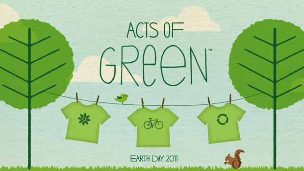 Earth Day T-shirt Challenge
