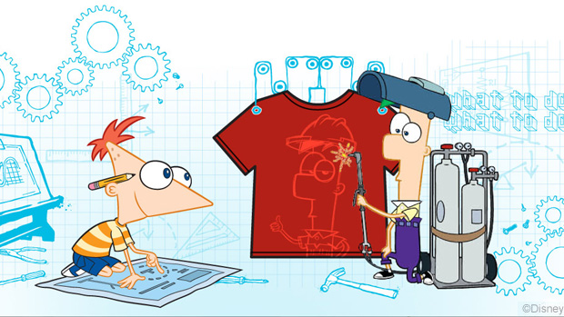Phineas and Ferb Design Challenge